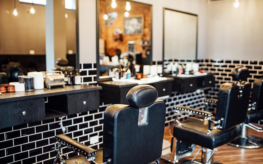 salon fryzjerski fotel fryzjerski