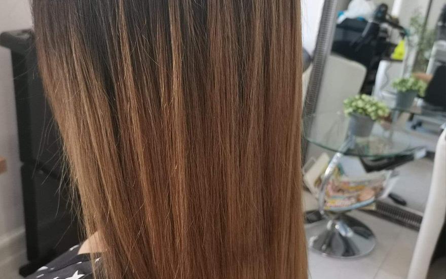Odbudowa włosa
